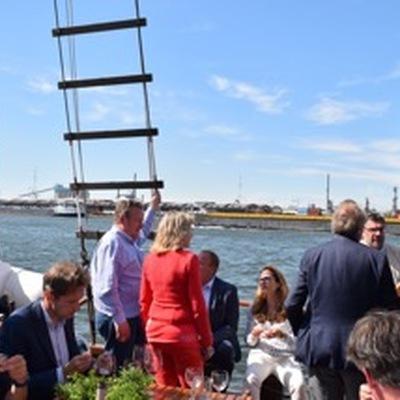 Sacchetti's - Havenrondvaart te Antwerpen