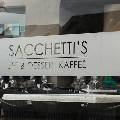 Sacchetti's, eet & dessert kaffee